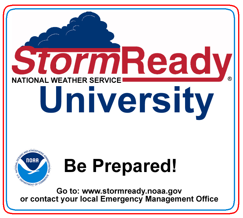 Storm Ready University - National Weather Service